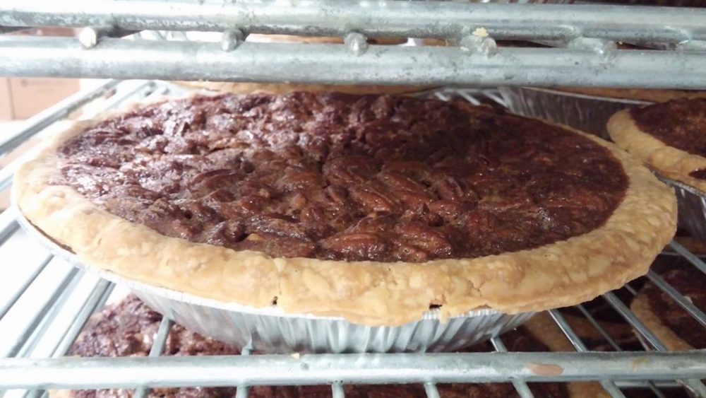 Pecan pie from Tippin's