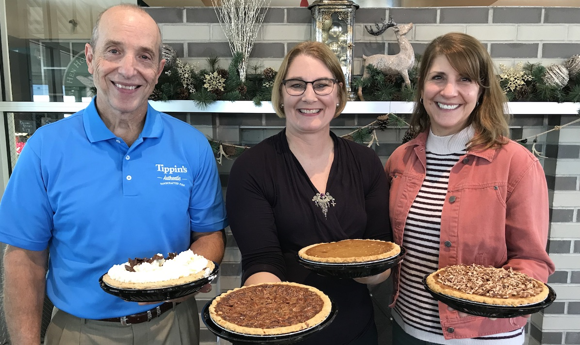 Tippin's partners with Emily Kate's Bakery for gluten-free pumpkin pie