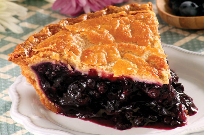 Tippin's Blueberry Pie