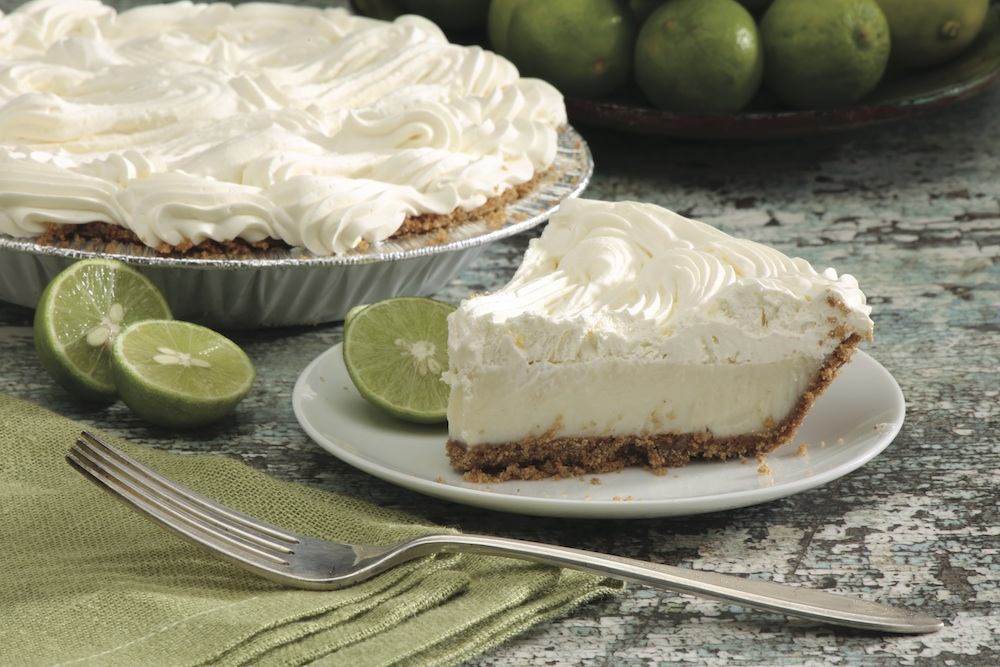 Tippin's Key Lime Pie slice